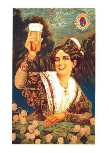 Bière du Sud-Est Aff. E. B.E. B + Petites...