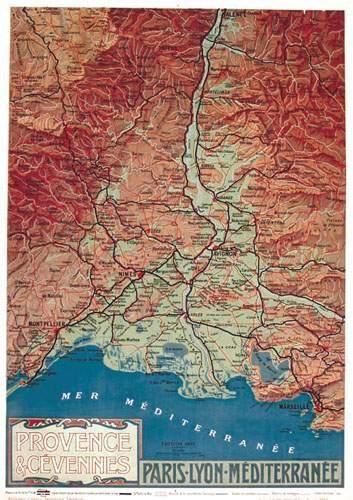 Provence & Cévennes PLM. Hugo d' Alesi Paris...