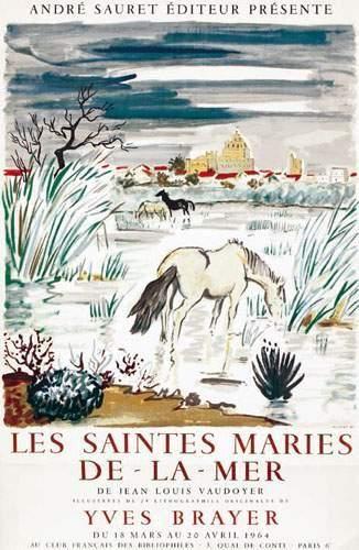 Les Saintes Maries de la Mer BRAYER YVES...