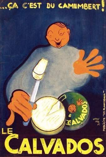 Le Calvados D'AR ANDRE ça c'est du camembert!...