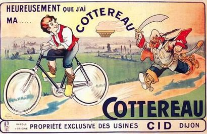 Cottereau cycles - Dijon (Côte-d'Or) Heureusement...