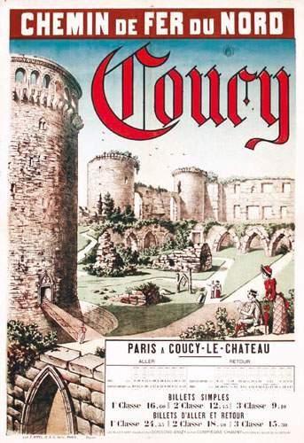 02 AISNE Coucy Coucy-le-Château. Chemin de...