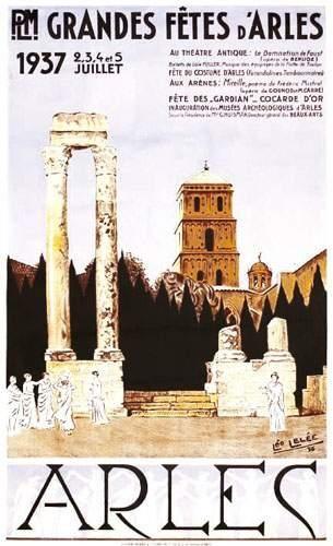 13 BOUCHES DU RHÔNE Arles PLM 1937 LELEE...