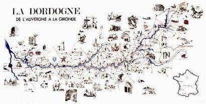 24 DORDOGNE La Dordogne De l'Auvergne à la...
