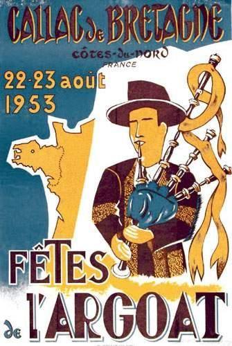 29 FINISTERE Fêtes de l'Argoat Callac de...