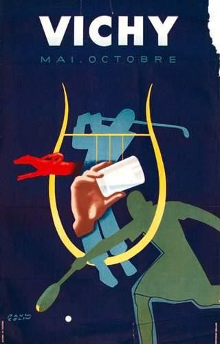 03 ALLIER Vichy COLIN PAUL Wallon 99 x 63...
