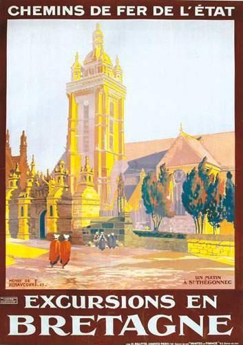 29 FINISTERE Excursions en Bretagne 1923...
