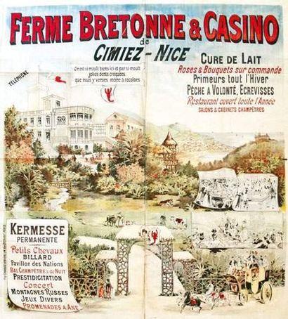 06 ALPES MARITIMES Ferme bretonne & casino...