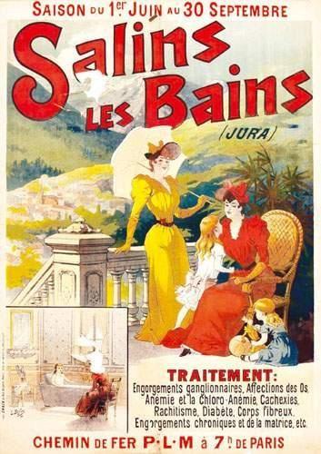 39 JURA Salins les Bains 1894 BAYLAC LUCIen...