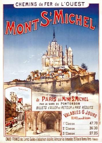 50 MANCHE Mont St Michel FRAIPONT G. Chemins...