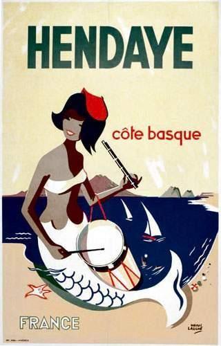 64 PYRENEES ATLANTIQUES ET PAYS BASQUE ESPAGNOL Hendaye LAULHE HENRI Côte basque....