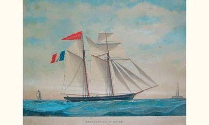 AVRILLAUD, fin XIXe siècle Portraitiste de...