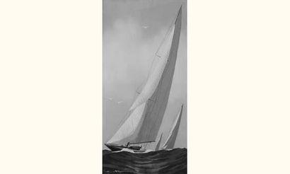 Léon HAFFNER (Peintre de la Marine)