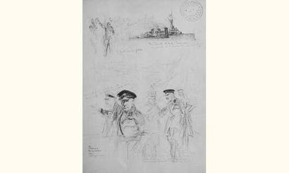 Charles FOUQUERAY (Peintre de la Marine)...