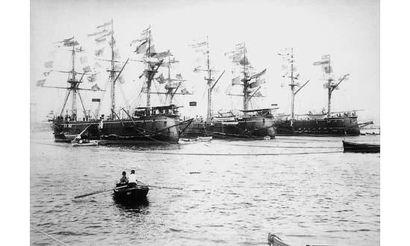 RIVES. « Croiseurs allemands sous grands...