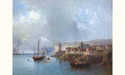 Tony François BERGUE (de), (1820-1890) «...