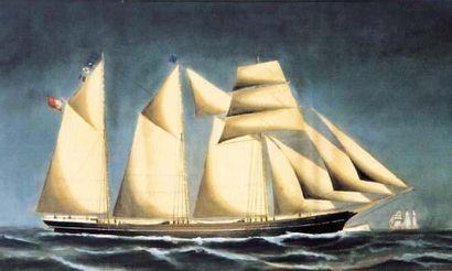 Ecole Anglaise XIXe siècle « Portrait du...