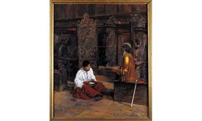 Salvatore MARCHESI (1852-1926) « Vocation,...