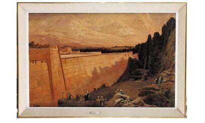 Georges CLAIRIN (1843-1919) « Remparts, circa...