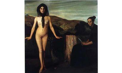 Angel ZARRAGA (1886-1946) « Les deux âges de la vie, 1907-1909 » Huile sur toile,...