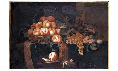 ECOLE FLAMANDE du XVIIe siècle, entourage...