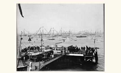Photographie : « Flotille de yachts sous...