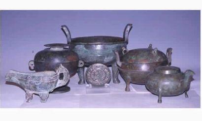 Collection de Bronze des dynasties ZHOU,...