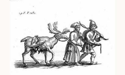SCHEFFER (Jean) - Histoire de la Laponie...