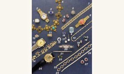PHOTO 5 1.BAGUE BOULE pavage diamants, en...