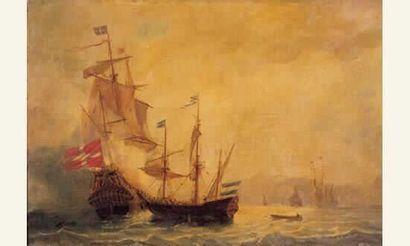 Ecole FRANÇAISE XIXème siècle « Corsaire...