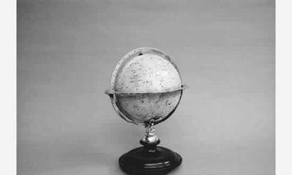 Rare Globe Céleste dit « tête de veau »....