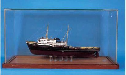 Fine maquette d'armateur représentant le...