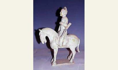 Dynastie Sui ( 581-618 ap JC) Archer à cheval,...