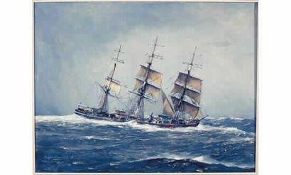 Roger CHAPELET« Le trois-mâts Duguay-Trouin...