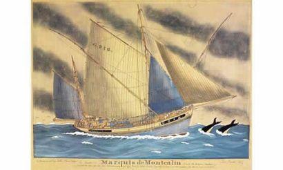 Paul-Emile PAJOT« Le dundee Marquis de Montcalm...