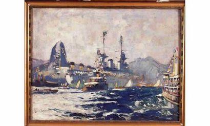 Bernard LACHEVRE« Le navire école « Jeanne...