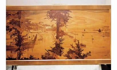 ROSENAU (vers 1920)« Le port de Sauzon à...