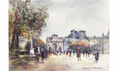 Georges Dominique ROUAULT (1904) « Flânerie...