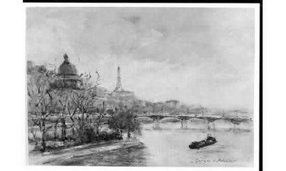 Georges Dominique ROUAULT (1904) « La Seine...