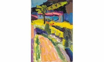 Pierre AMBROGIANI (1907-1985) « La maison...