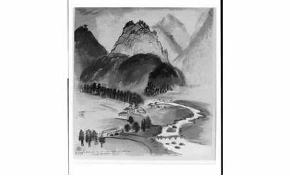 Henri de WAROQUIER (1881-1970) « La chaîne...