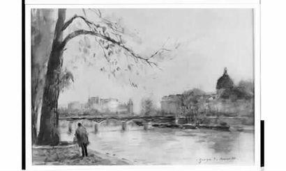 Georges Dominique ROUAULT (1904) « Le pont...