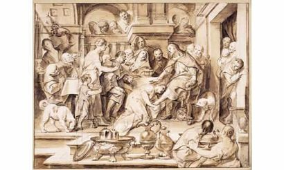 Jacob JORDAENS et son atelier (Anvers 1593-1678)...