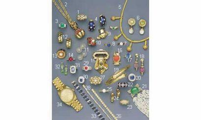1. BAGUE PANTHÈRE, en or, saphirs et diamants...