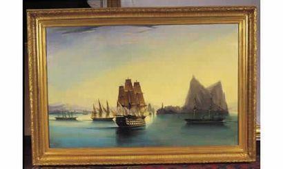 DUBREUIL. « Navires trois ponts de la flotte...