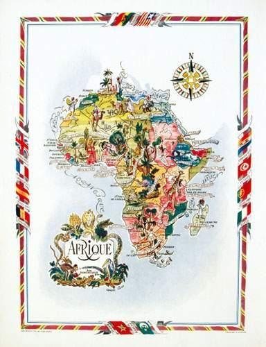 AFRIQUE / AFRICA Afrique LIOZU Odé Paris...