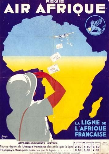 AFRIQUE / AFRICA Air Afrique La ligne de...