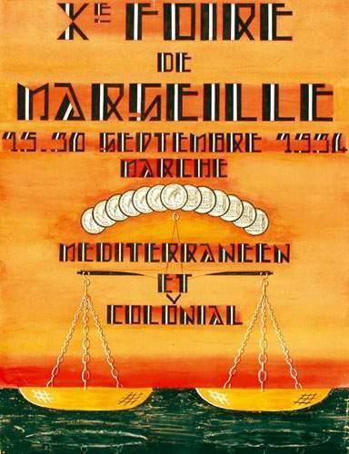 COLONIES / COLONIAL Xe Foire de Marseille...