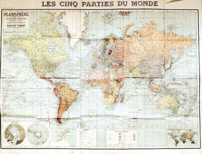 COLONIES / COLONIAL Les 5 Parties du Monde...
