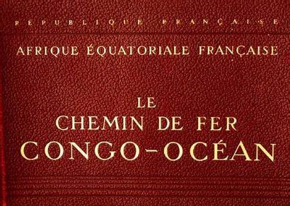 COLONIES / COLONIAL Le chemin de Fer Congo...